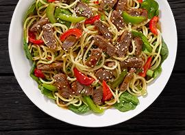 Spicy Mongolian Steak