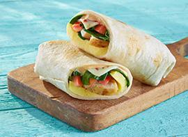 Southwest Omelet Wrap